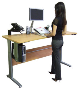 Bring A Standing Desk To Work-GymMembershipFees