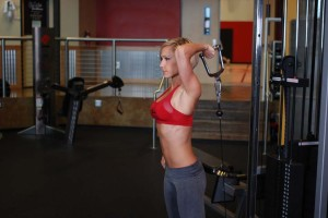 Reverse One-Arm Triceps Extension-GymMembershipFees