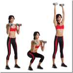 Combination of Dumbbell Z-Press and Split Squat-GymMembershipFees
