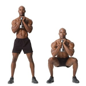 Image result for goblet squat hold