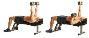 Single-arm Dumbbell Bench Press-GymMembershipFees