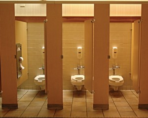 Whenever using a public toilet, use the first stall-GymMembershipFees