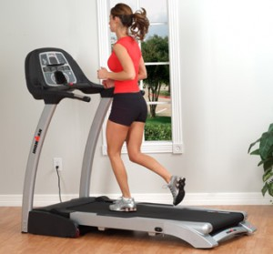 Brisk Walking on a Treadmill-GymMembershipFees.com