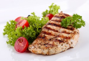 Eat lots of lean protein, fruits and vegetables.-GymMembershipFees