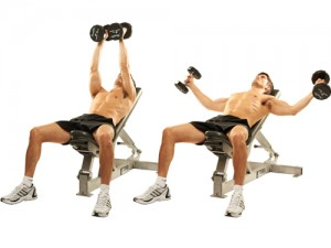 Flat Bench Dumbbell Fly-GymMembershipFees