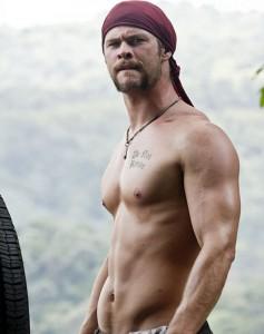 Chris Hemsworth workout - GymMembershipFees