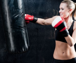 Female Models Into Boxing Exercises-GymMembershipFees