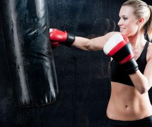 Female Models Into Boxing Exercises-GymMembershipFees
